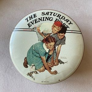 Marbles Champion by Norman Rockwell Tin
